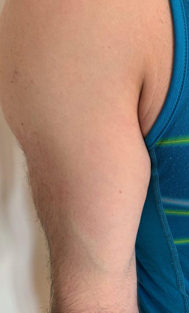 Biceps - close up
